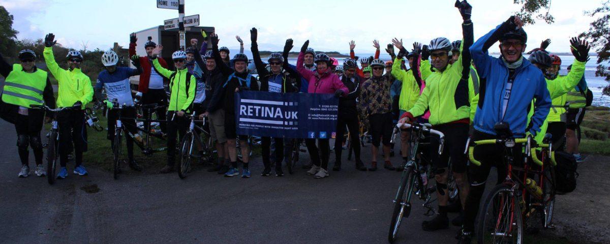Tandem cycle challenge
